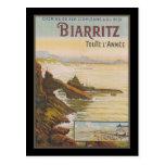Francia Biarritz Postal