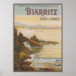 Francia Biarritz Poster