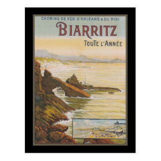 Francia Biarritz Tarjeta Postal
