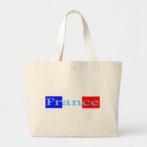 Francia Bolsa Tela Grande