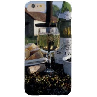 Francia, Borgoña, Chablis. Vino local y Funda De iPhone 6 Plus Barely There