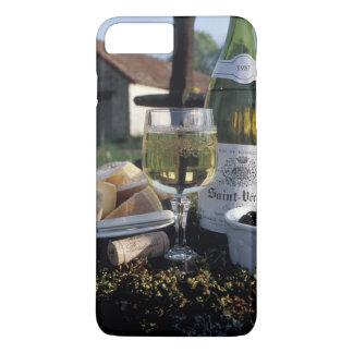 Francia, Borgoña, Chablis. Vino local y Funda iPhone 7 Plus