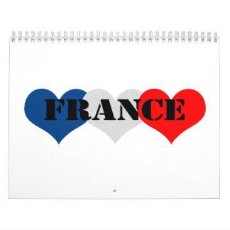 Francia Calendarios