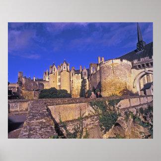 Francia, castillo de Montreuil-Bellay Posters