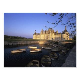 Francia, centro, Loir y Cher, castillo francés Cha Cojinete