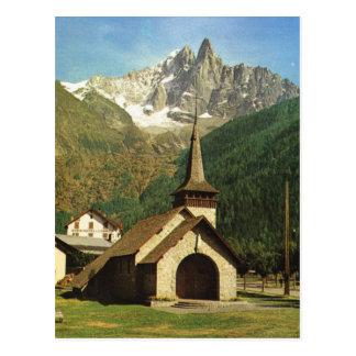 Francia, Chapelle de Praz, arriba en las montañas Postales