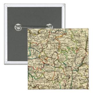 Francia con los límites resumidos pins