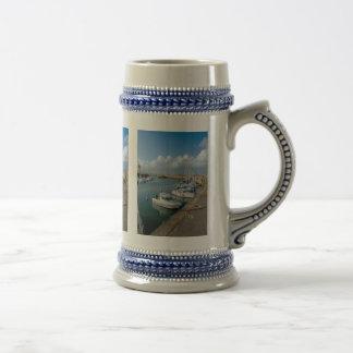 Francia costera hermosa jarra de cerveza