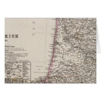 Francia, cuatro hojas, hoja 3 tarjeta de felicitación