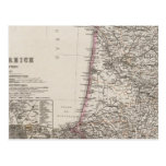 Francia, cuatro hojas, hoja 3 tarjeta postal