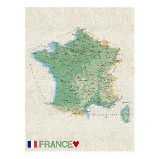♥ Francia de las POSTALES del MAPA