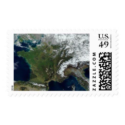 Francia del espacio envio