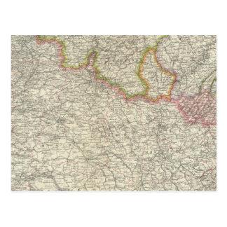 Francia del noreste postales