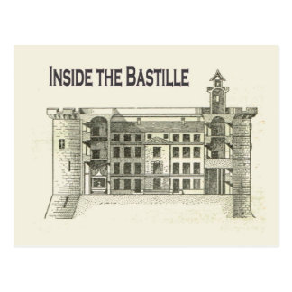 Francia, dentro del Bastille en 1789 Postales