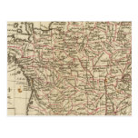Francia, departemens postal