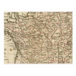 Francia, departemens postales