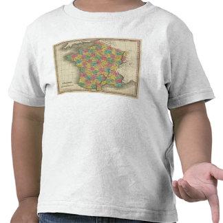 Francia, en departamentos camisetas