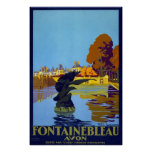 Francia Fontainebleau Avon Impresiones