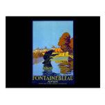 Francia Fontainebleau Avon Postales