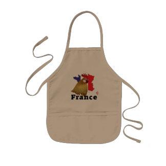 Francia France cía de fra delantal