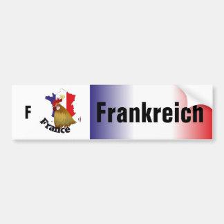 Francia - France pegatina de automóvil Pegatina Para Auto