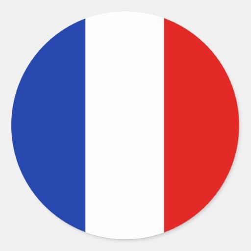 Francia, Francia Pegatina Redonda
