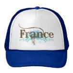 Francia fresca gorros bordados