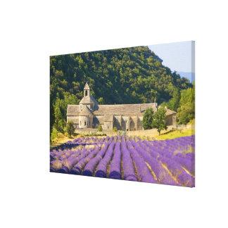 Francia Gordes Monasterio cisterciense de Lona Envuelta Para Galerías
