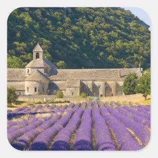 Francia, Gordes. Monasterio cisterciense de Pegatina Cuadrada