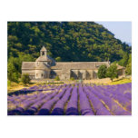 Francia, Gordes. Monasterio cisterciense de Tarjeta Postal