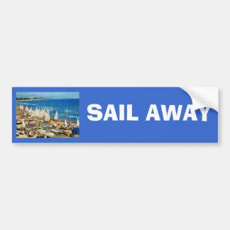 Francia, Hyeres, Var, puerto y puerto deportivo Pegatina Para Auto