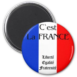 Francia Imán Para Frigorífico