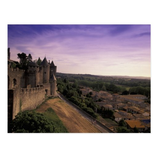 FRANCIA, Languedoc Carcasona 2 Postales