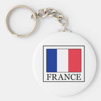 Francia Llavero Redondo Tipo Pin