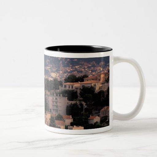 Francia, Marsella, Provence. Suburbios meridionale Taza