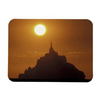 Francia, Normandía. Santo Micaela de Mont Imán Rectangular
