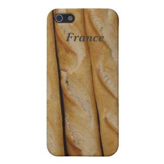 Francia - pan francés iPhone 5 cárcasas