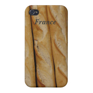 Francia - pan francés iPhone 4/4S fundas