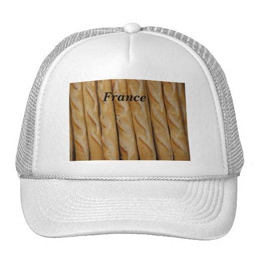 Francia - pan francés gorros bordados