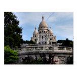 Francia París Basilique du Sacré-Cœur Tarjeta Postal