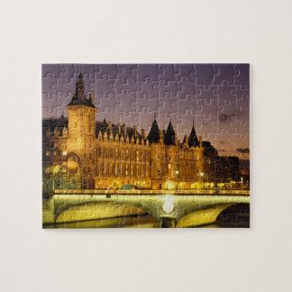Francia, París, Conciergerie y río el Sena en Puzzles Con Fotos