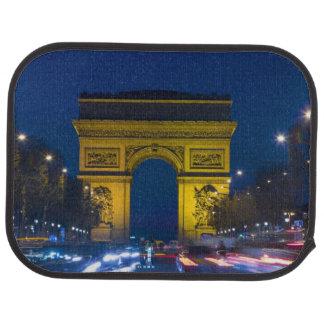 Francia, París. El Arco del Triunfo y Alfombrilla De Auto