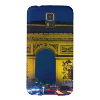 Francia, París. El Arco del Triunfo y Carcasa Para Galaxy S5