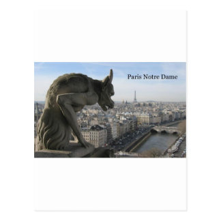 Francia París Notre Dame (por St.K) Tarjeta Postal