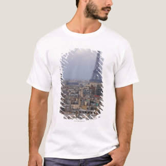 Francia, París, paisaje urbano con la torre Eiffel Playera