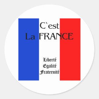 Francia Pegatinas