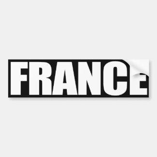 Francia Pegatina Para Auto