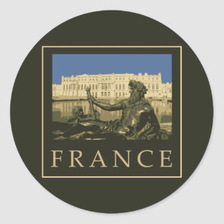 Francia Pegatina Redonda