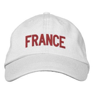 Francia personalizó el gorra ajustable gorra de beisbol bordada