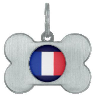 Francia Placa Mascota